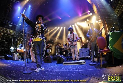 Farofa Carioca-伯恩斯-斯德哥爾摩,瑞典