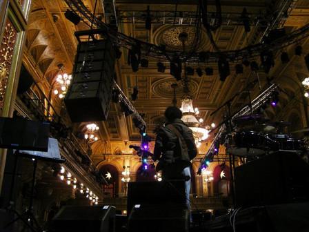 Soundcheck - Berns - Stockholm, Sweden