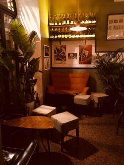 Gin and restaurant bar _Rome