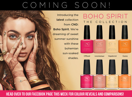 Swooning Over The CND Summer Collection