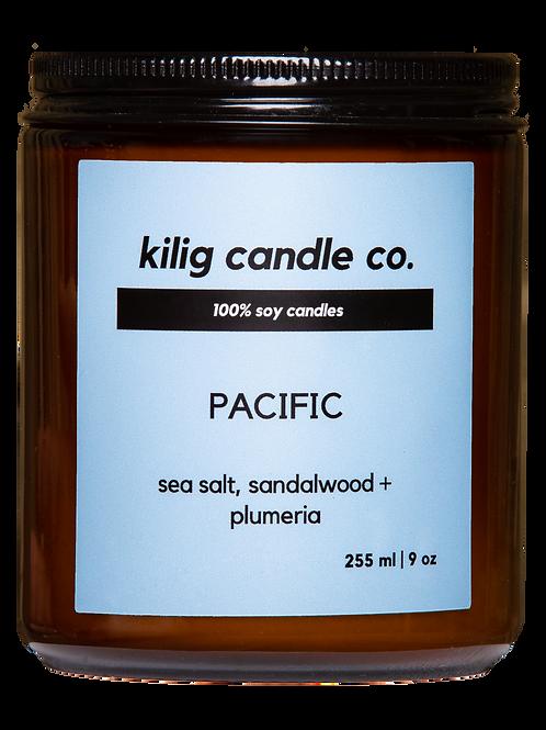 PACIFIC ~ sea salt, sandalwood + plumeria