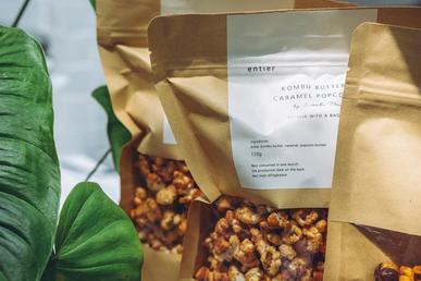 Popcorn Packaging Labels