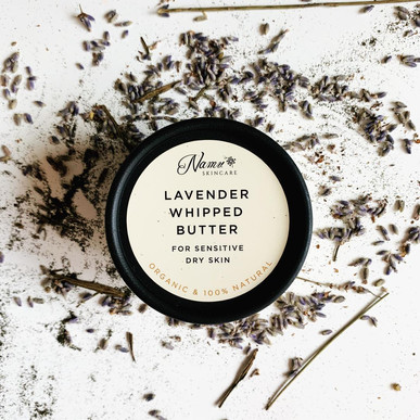 Lavender Whipped Butter - Packaging Label