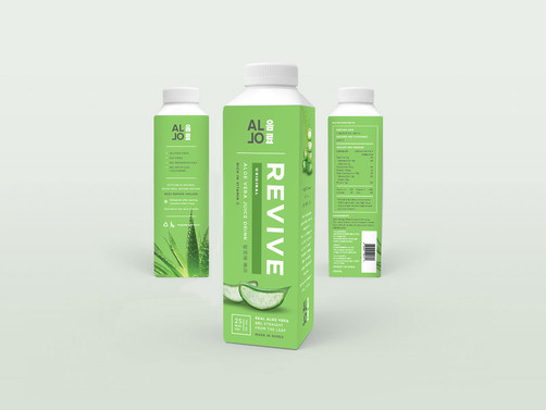 Allo Revive Packaging