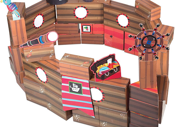 Pirate Adventure Building Blocks