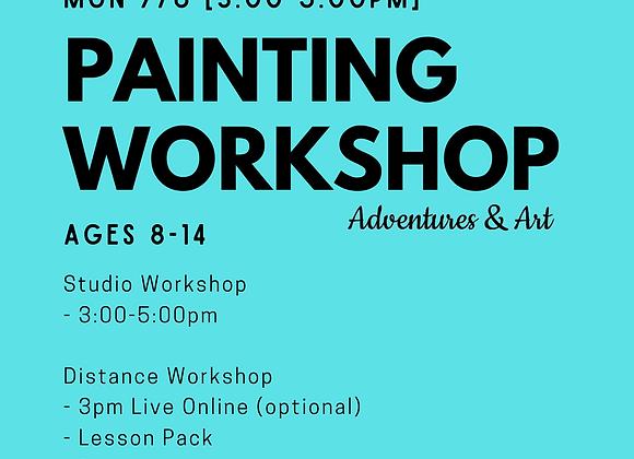 Canvas Painting Workshop for 8yo-14yo