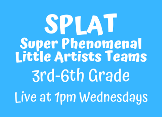 SPLAT 3rd-6th [Wed 1pm Live] JUNE