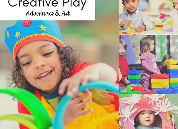 Wed 1-2pm Creative Play