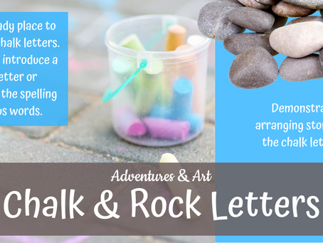 Chalk & Stone Letters