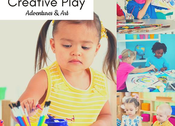 Tue 9-10am Creative Play