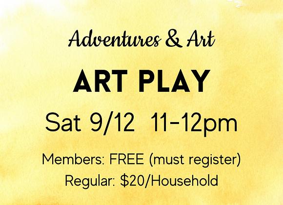 9/12 Art Play