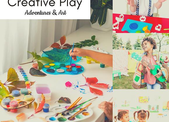 Mon 1-2pm Creative Play