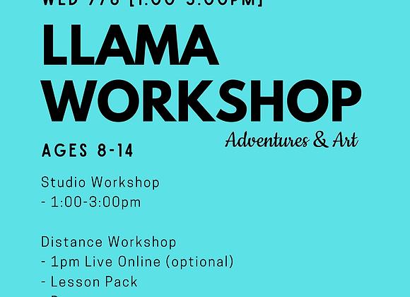 Llama Workshop for 8yo-14yo