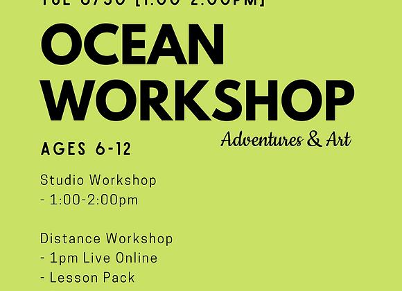 Ocean Workshop for 6yo-12yo