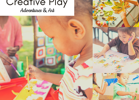 Fri 9-10am Creative Play