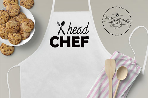Head Chef- Matching Adult Apron