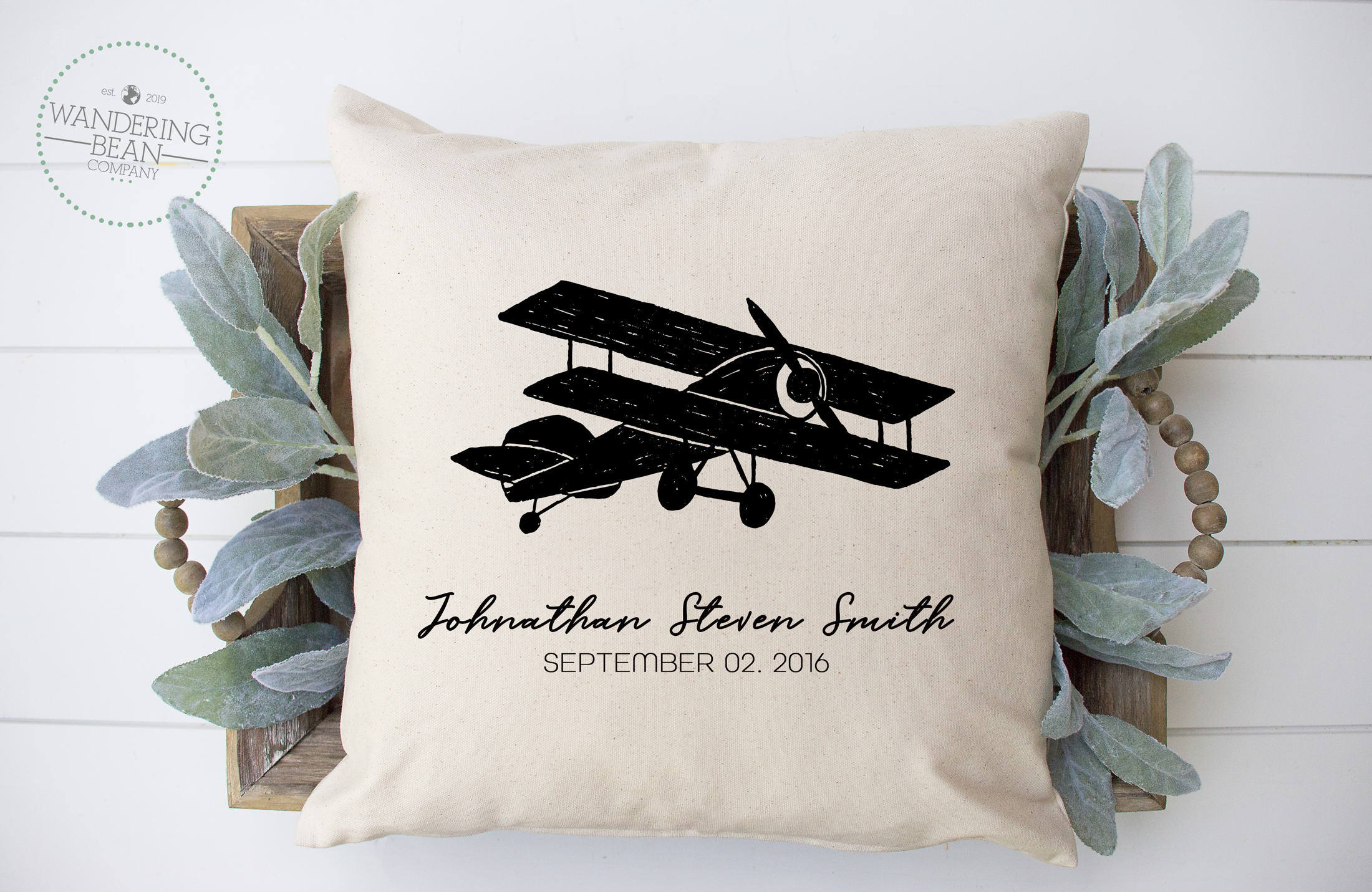 airplaine--personalized-pillow