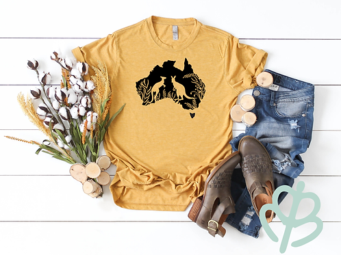 Kangaroo- Australia shirt
