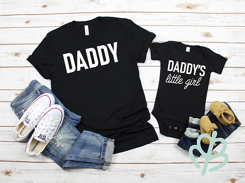 Daddy and Daddy's Little Girl