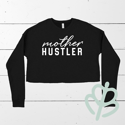 Mother Hustler- Love Sleeve Crop