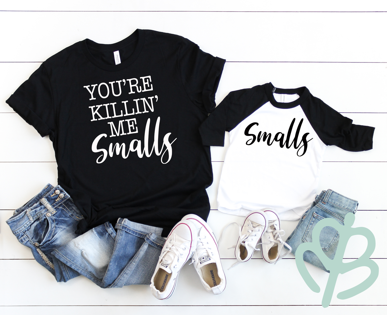 YKMS,-SMALLS--black-shirt-and-black-bb-t