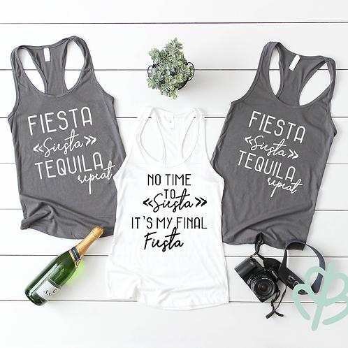 Fiesta Siesta Tequila Repeat | No Time To Siesta