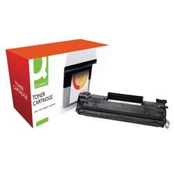 Q-Connect Compatible Solution HP 36A Black Laser jet Toner Cartridge