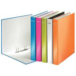 Leitz WOW A4 Plus 25mm Assorted 2 D-Ring Binder (10 Pack)