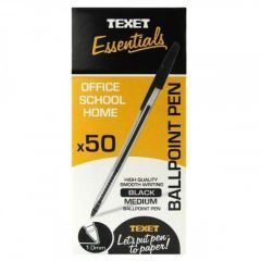 Texet Ballpoint Pen Black