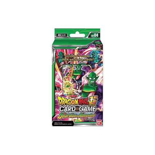 Dragon Ball Super Card Game - Starter Deck : The Guardian of Namekians - SD04
