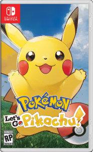 Nintendo, Pokemon: Let's Go Pikachu