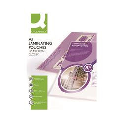 Q-Connect A3 Laminating Pouch 250 Micron Gloss (Pack of 25)