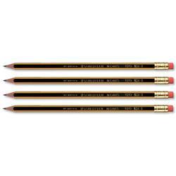 Staedtler 120 Noris HB Pencil with Eraser Tip (12 Pack)