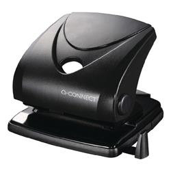 Q-Connect Standard Duty 2 Hole Punch Black