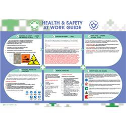 Wallace Cameron Health and Safety at Work Poster 590x420mm