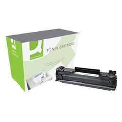Q-Connect Compatible Solution HP 85A Black Laser jet Toner Cartridge