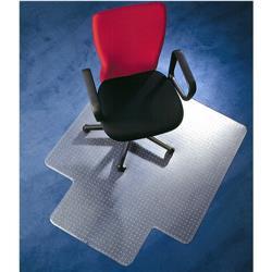 Q-Connect Chairmat PVC 1143x1346mm Clear