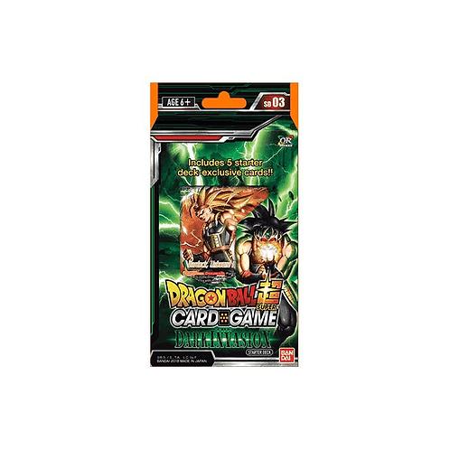 Dragon Ball Super Card Game - Starter Deck : The Dark Invasion - SD03