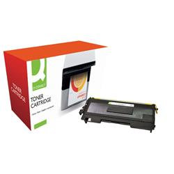 Q-Connect Compatible Solution Brother Black Toner Cartridge TN2000