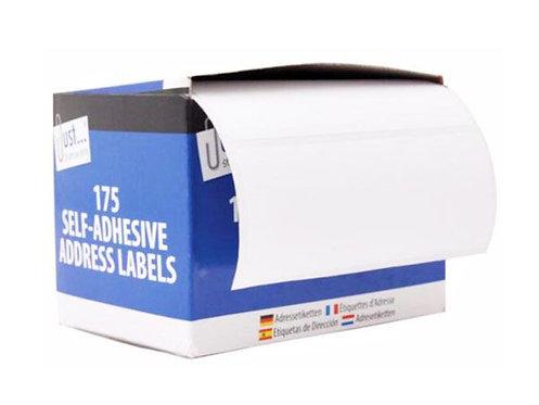 Just Stationery 175pk Self Seal Address Labels