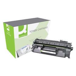 Q-Connect Compatible Solution HP 80A Black Laserjet Toner Cartridge
