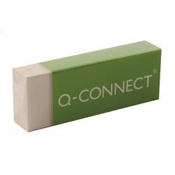 Q-Connect Plastic Eraser White (Pack of 20)