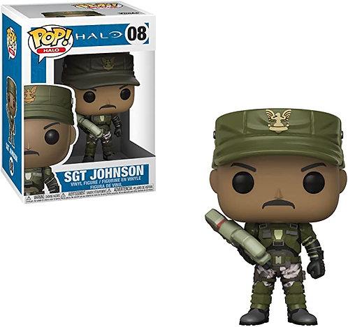 Funko Pop! Games: Halo - SGT Johnson