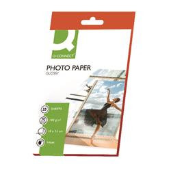 Q-Connect 10x15cm Gloss Photo Paper 180gsm (Pack of 25)