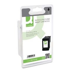 Q-Connect HP 301 Remanufactured Black Inkjet Cartridge