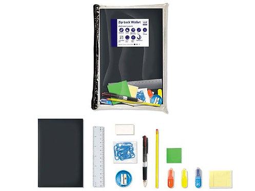 Zip Lock Wallet Stationery Value Pack