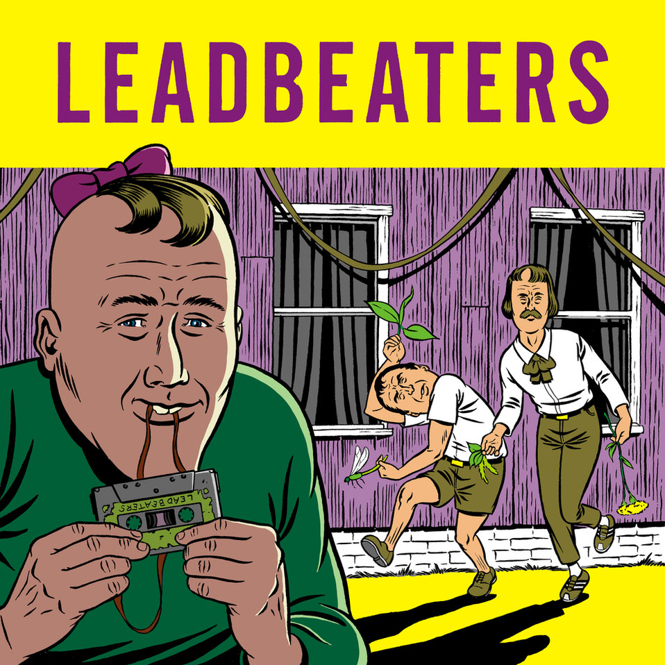 Leadbeaters EP cover by Charles Guthrie