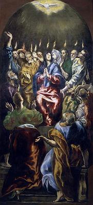 oil-canvas-Pentecost-El-Greco-Prado-Madr