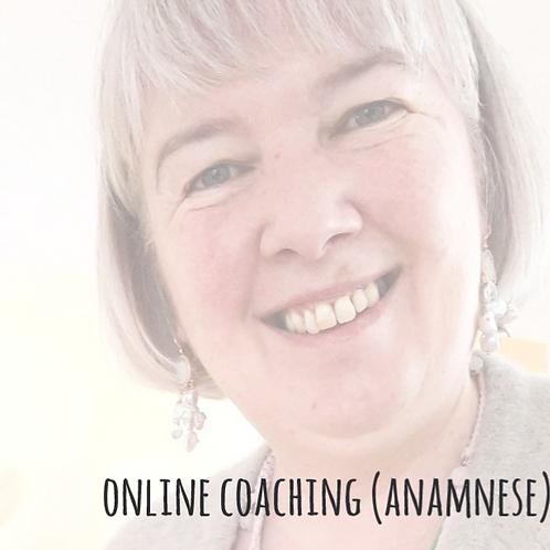 Online 1:1 Coaching (Anamnese 1.5 Stunde)