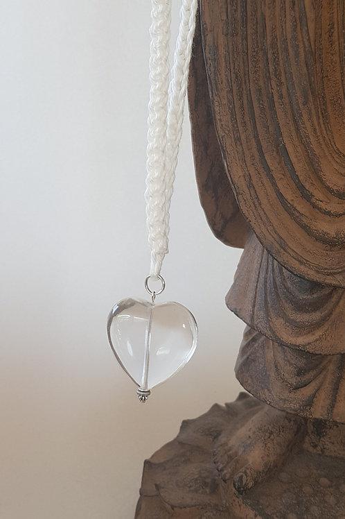 Energetisiete Herzkette - handgearbeitet